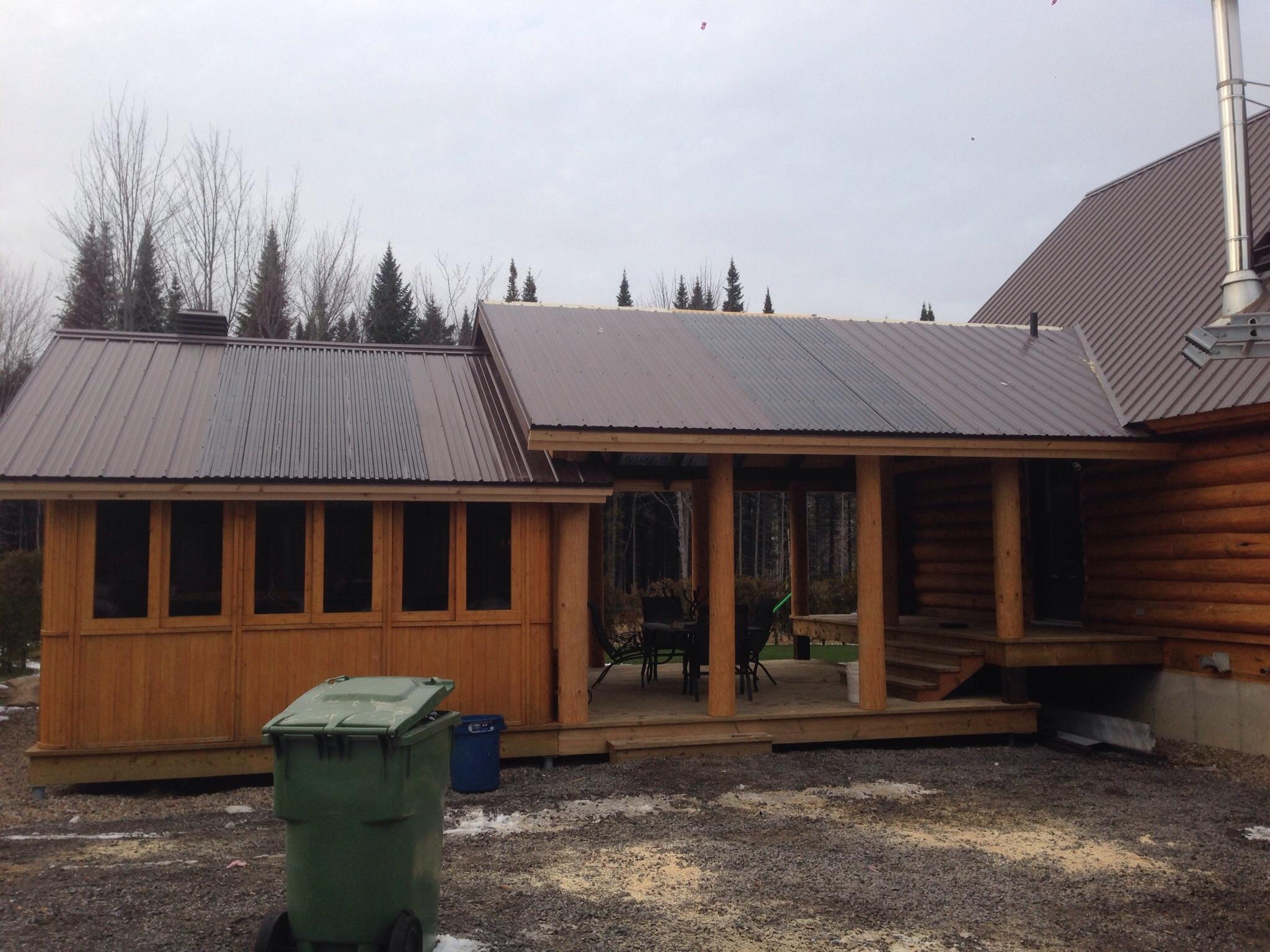 Plan pour agrandir sa maison ajout de garage pour de for Ajout garage maison