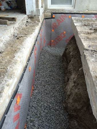 Excavations et drains